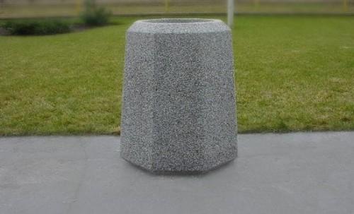 Kosze betonowe na odpadki